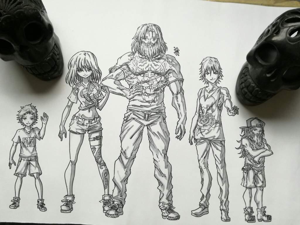 OCs, AGRUPACIÓN COMPLETA. | Arte Anime Amino Amino