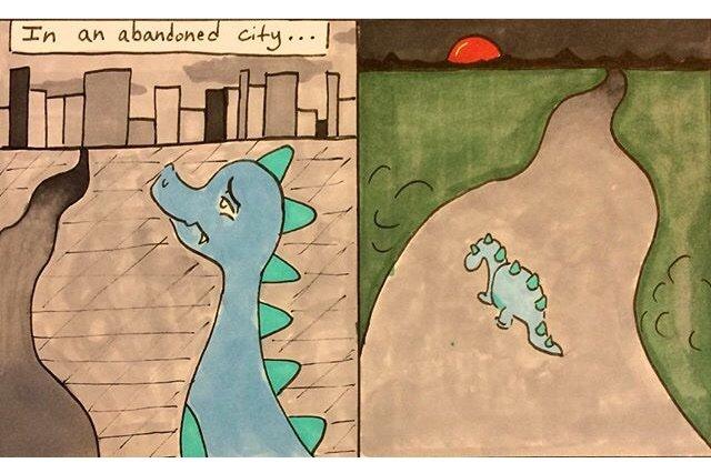 furry dragon comic