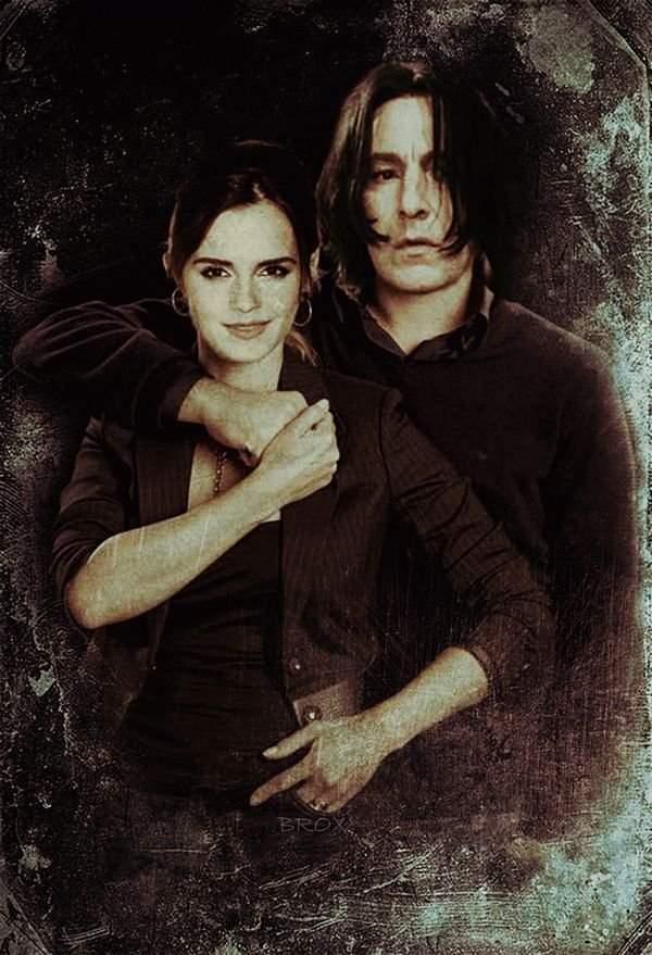 Hermione Granger x Severus Snape ?   Harry Potter Amino