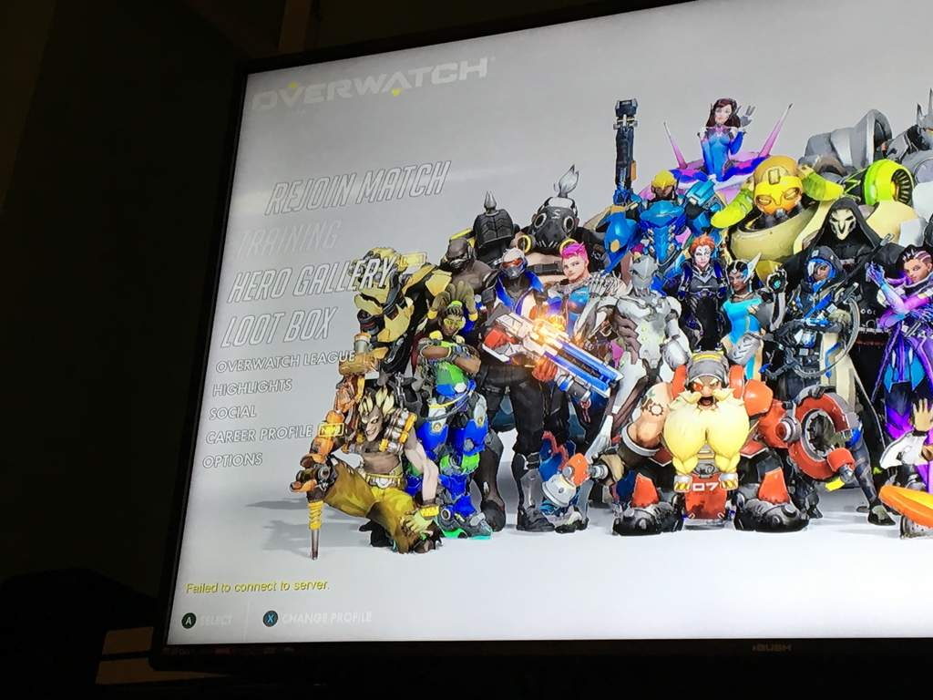 Overwatch Login Error Failed To Connect Game Server Xbox One