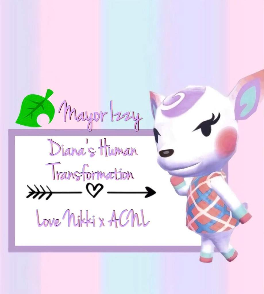 From Deer To Human Diana S Transformation Animal Crossing Amino