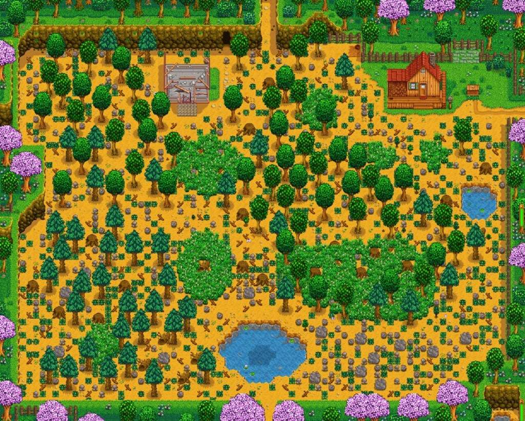 Stardew Guides Picking A Farm Stardew Valley Amino