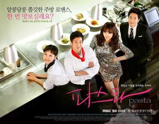 introduce & review k-drama] pasta(2010)-Lee Sun Kyun,Gong