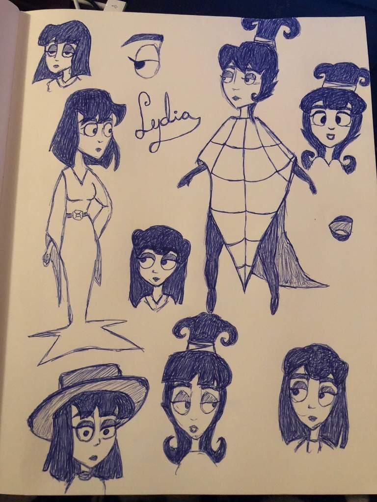 Lydia From The Beetlejuice Cartoon Art Amino