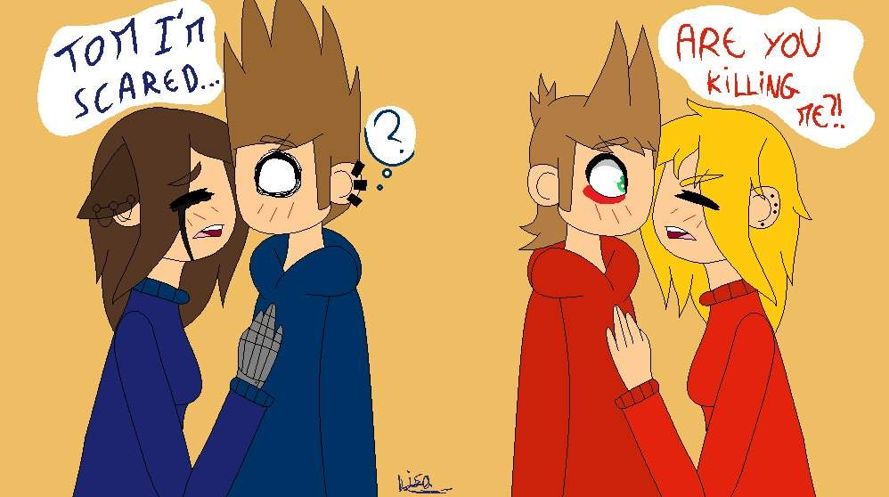 Eddsworld X Scared Reader