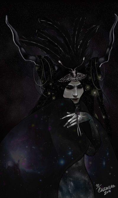 Nyx Njeni otroci - Boginja čarovnic Lair Amino-8082