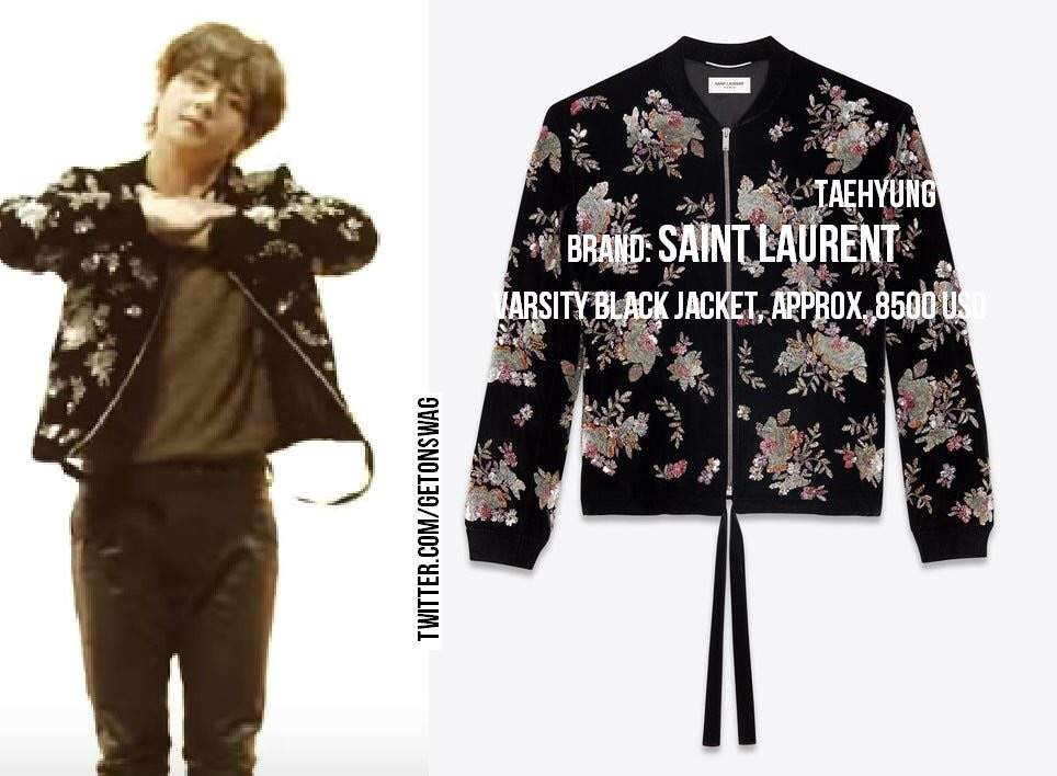 Taehyung Outfit On Bts Love Yourself 轉 Tear Singularity 7518