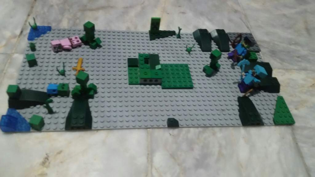 Wither Storm Miniscale Lego Amino