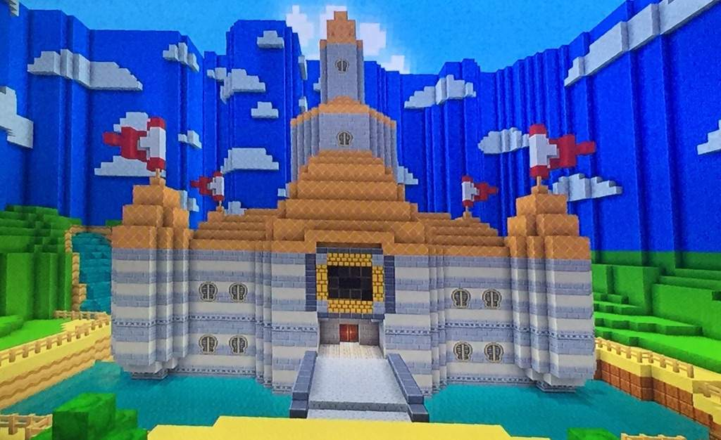 Super Mario 64 Beta Peach's Castle (MC)   Mario Amino