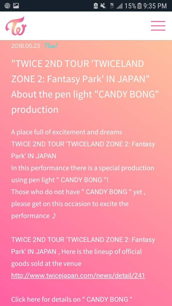 TWICE 2ND TOUR 'TWICELAND ZONE 2: Fantasy Park' IN JAPAN