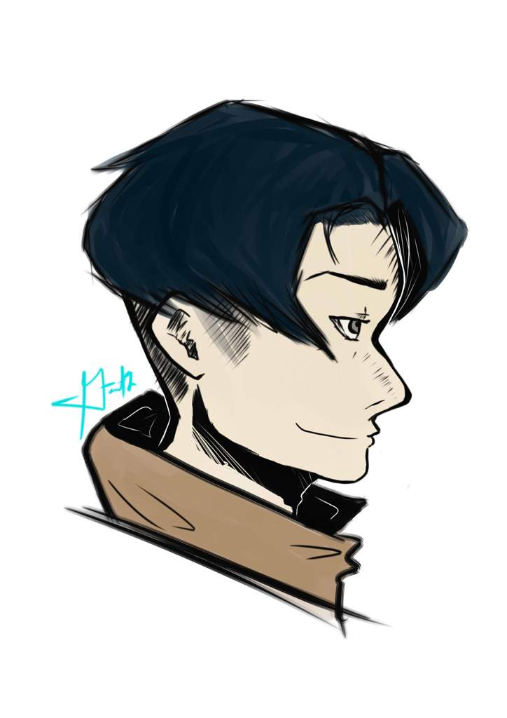 Levi Ackerman Fanart By Yours Trulyyy Attack On Titan