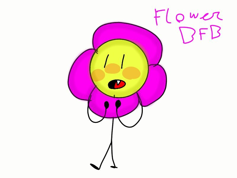 My drawing of flower | BFB Amino