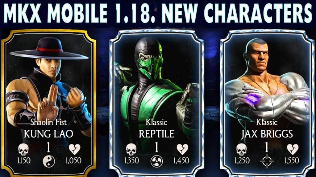 Mkx Mobile 1 18 Update! | Kombat Amino