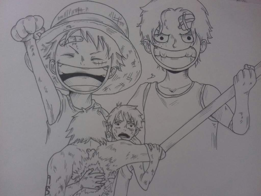 Luffy Et Ace One Piece Amino