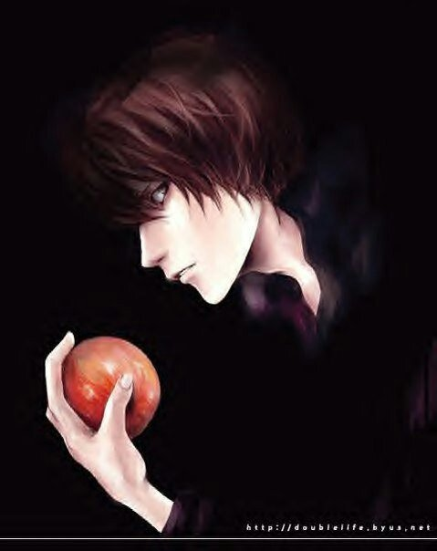 ягами лайт яблоко картинки брус изготавливают современным