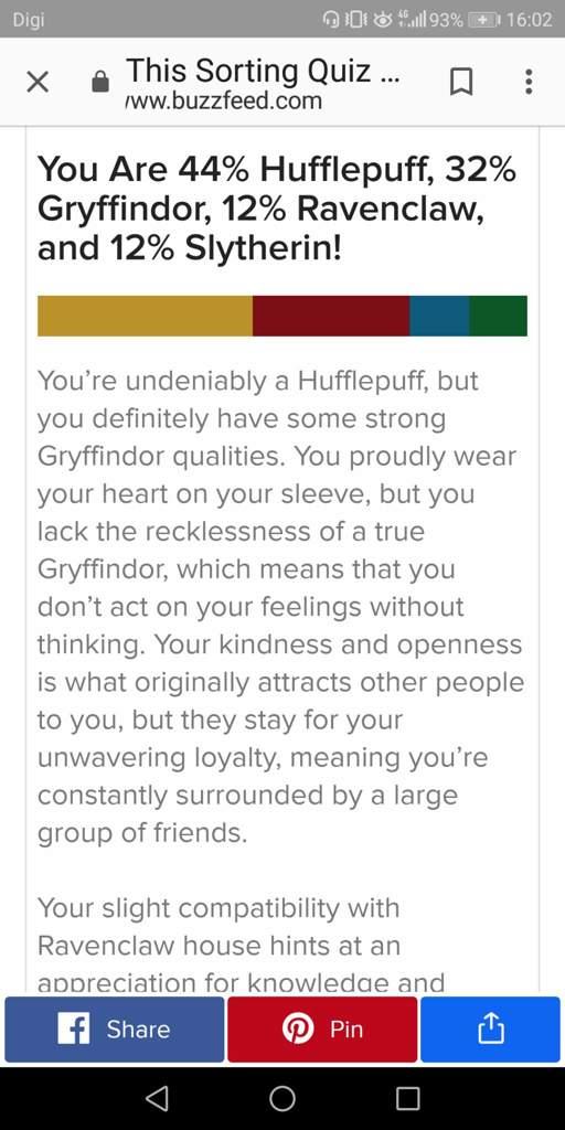 My Buzzfeed results 3 | Harry Potter Amino