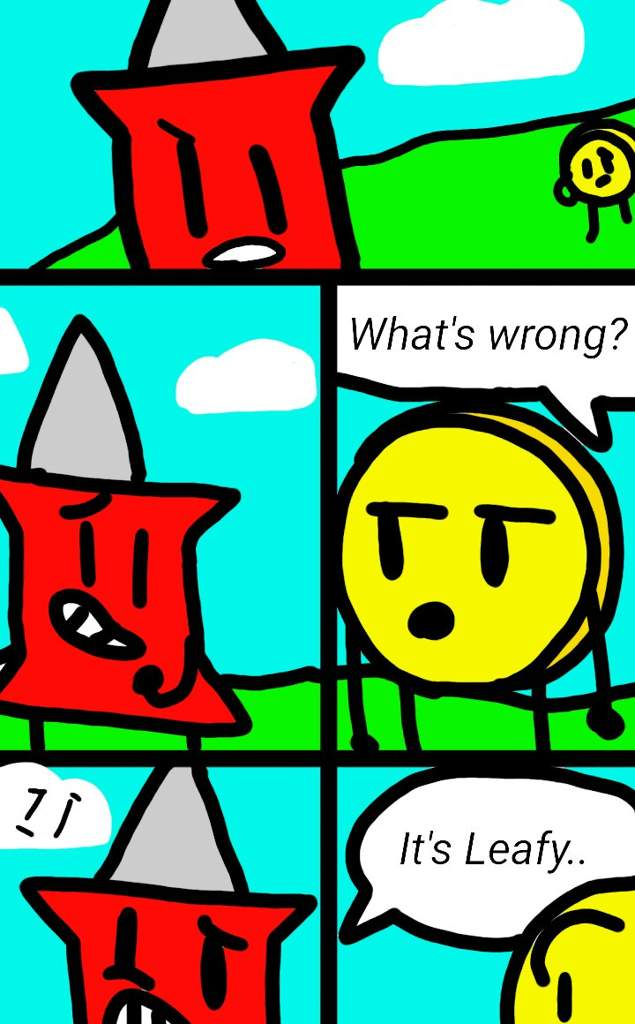 Comic for BFB 11 Pt 1 | BFDI💖 Amino