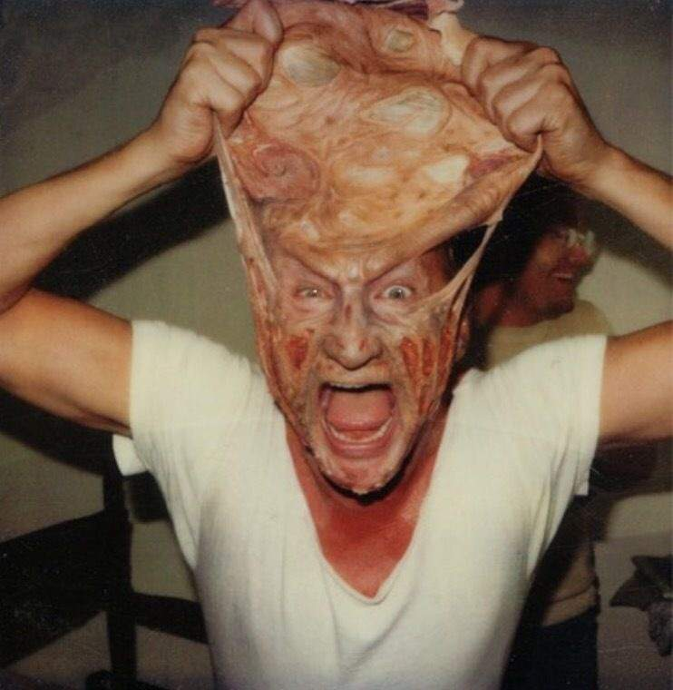 Image result for freddy krueger makeup transformation robert englund