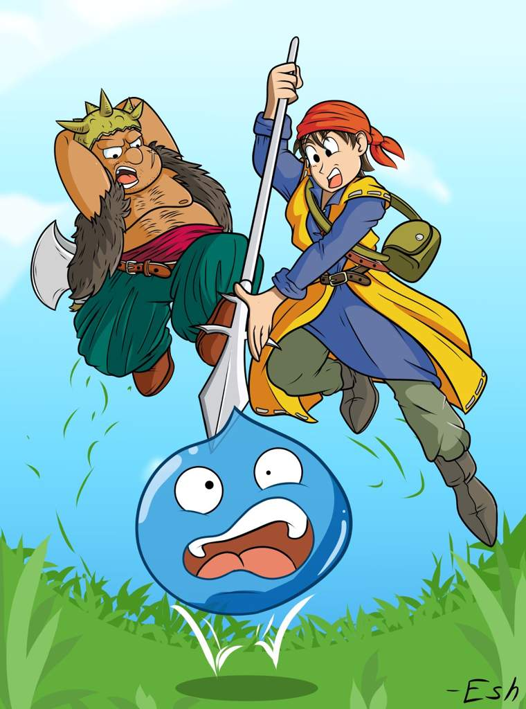 Level Grinding [DRAGON QUEST VIII FANART] | Artists For Artists Amino