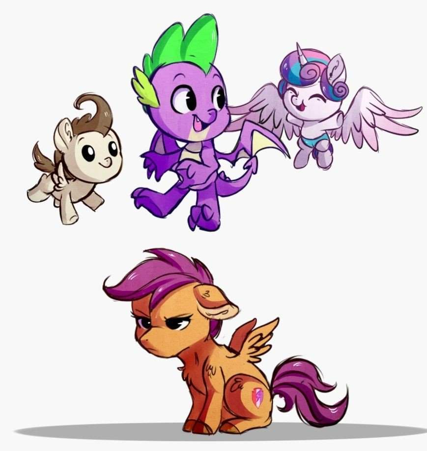 Poor Scootaloo She S The Only One Who Can T Fly Equestria Unofficial Fan Club Amino While fluttershy has mental issues, scootaloo is kind of educationally handicapped and needs special scootaloo and apple bloom can be stubborn on a few occasions. equestria unofficial fan club amino