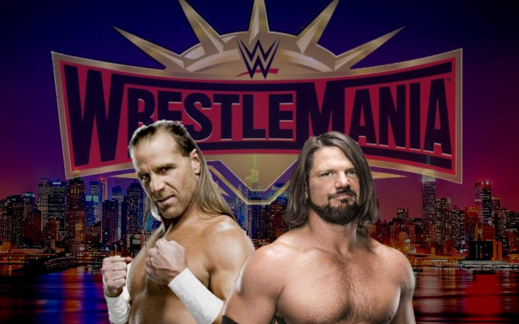 Image result for WWE AJ Styles vs Shawn Michaels