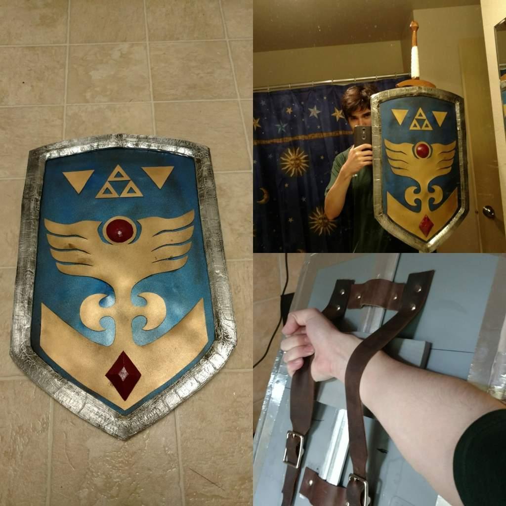 Classic Link Shield Progress Zelda Amino