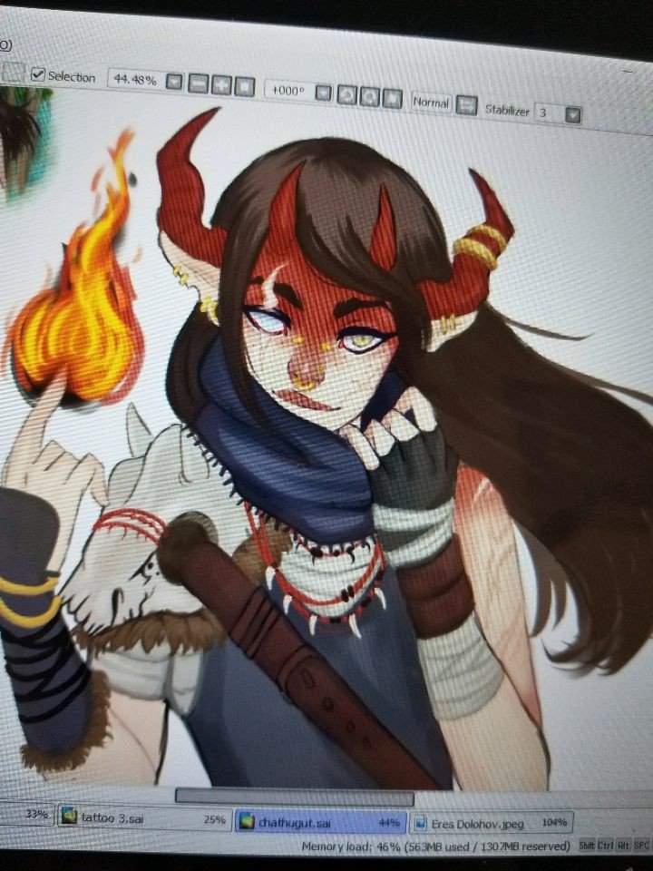 My Tiefling Rogue Eres Dolohov   Art Amino