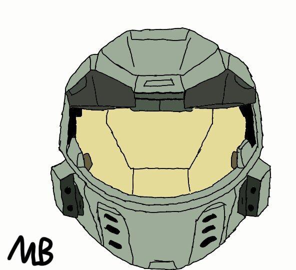 halo mjolnir mark v helmet (emile helmet coming soon) | Halo
