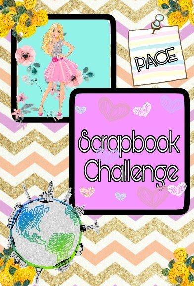 Vacation Scrapbook Challenge Barbie Amino