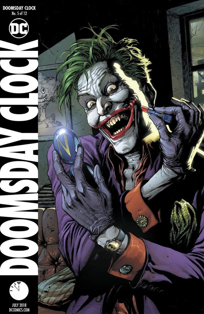 Doomsday Clock Review Part 5 Comics Amino
