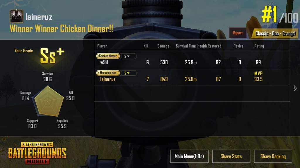 End Game Screenshots Pubg Mobile Amino