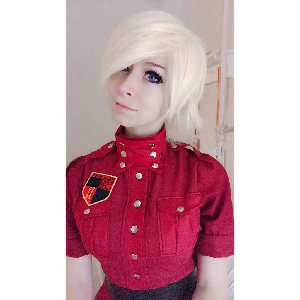 Seras Victoria Cosplay Black: Beautiful Cosplay Of Seras Victoria