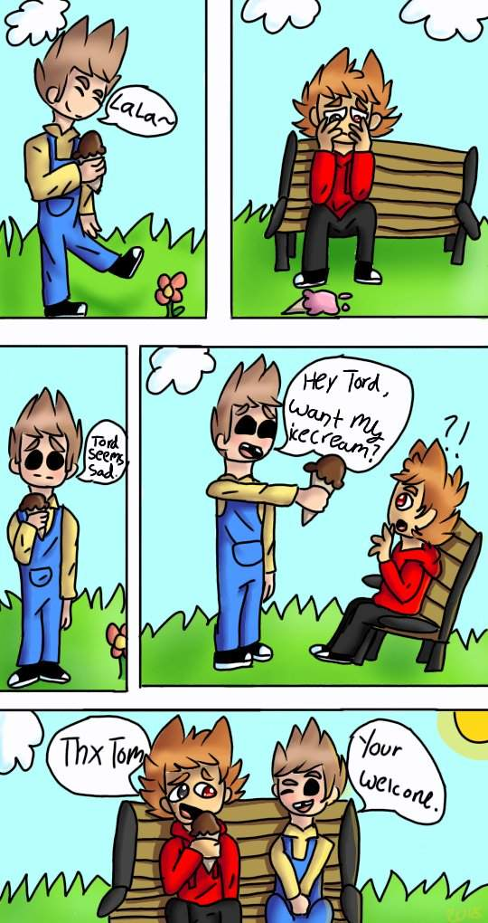 Comic of TomTord?   🌎Eddsworld🌎 Amino
