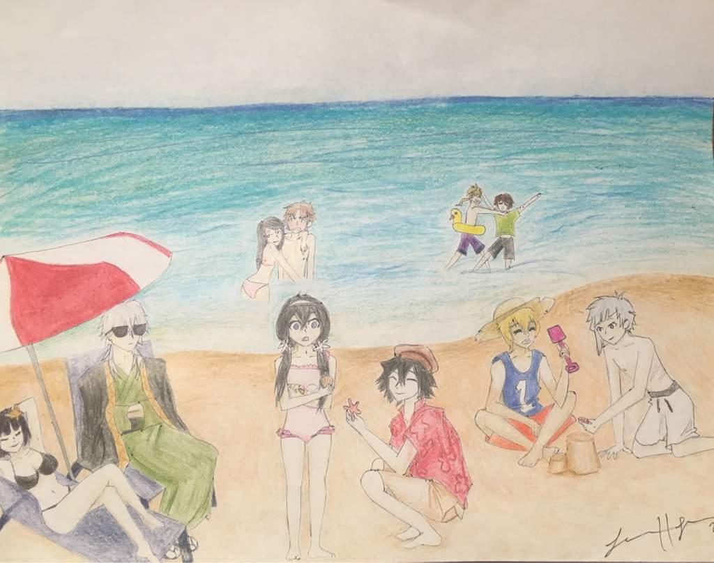 Beach Scene   Bungou Stray Dogs Amino
