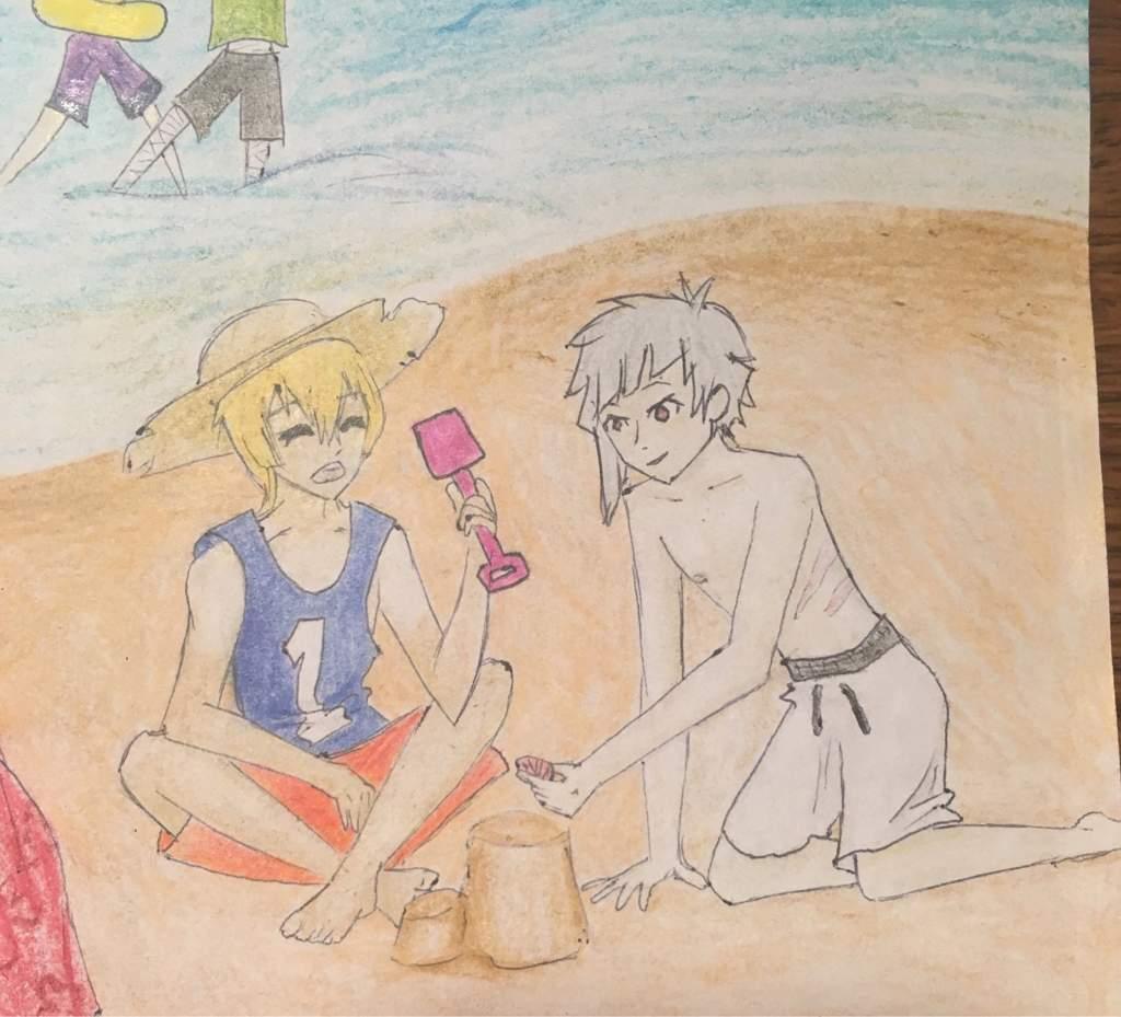 Beach Scene | Bungou Stray Dogs Amino