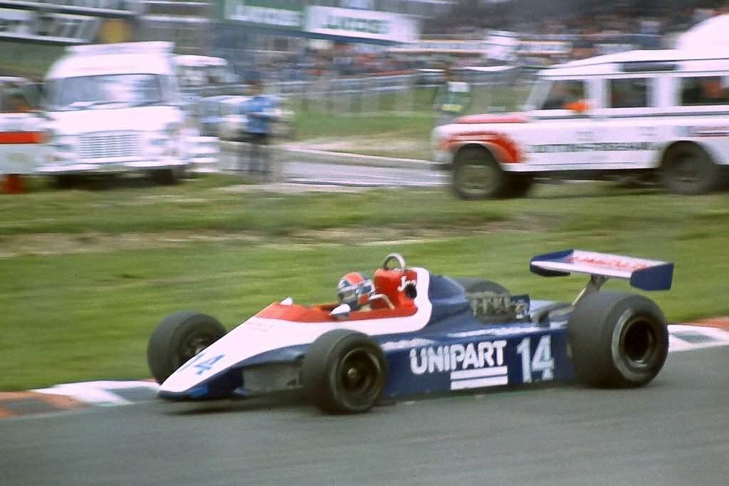 Theodore Racing TY02 1982 #33 Jan Lammers Zandvoort type 2