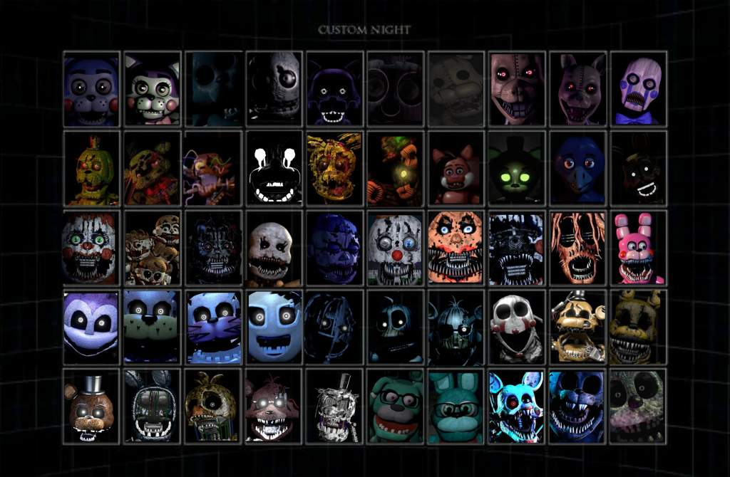 Fangame Ultimate Custom Night Request Collab Ting Five