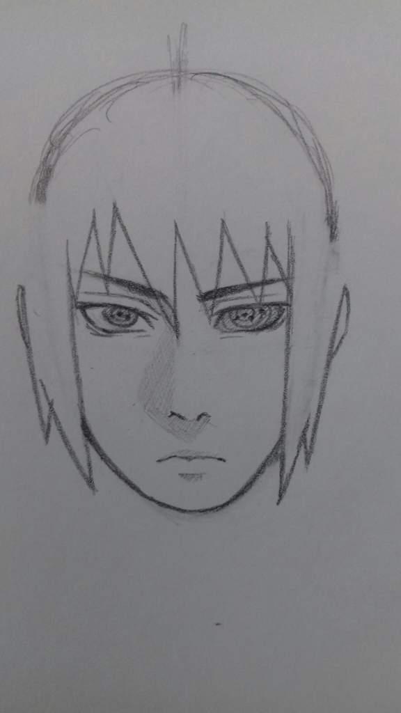 Tuto dessin comment dessiner sasuke uchiha naruto boruto fr amino - Comment dessiner sasuke ...