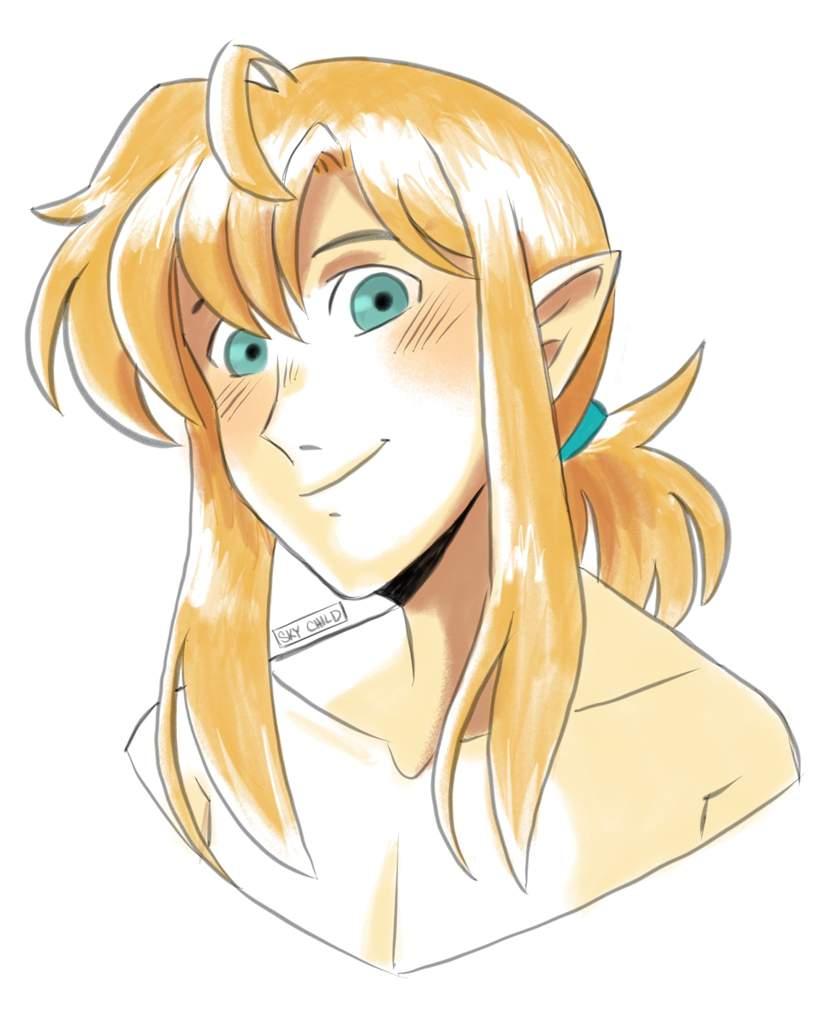 link 90 s anime hair zelda amino