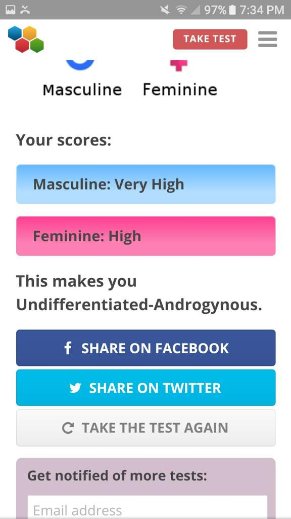 Gender Role Test | LGBT+ Amino
