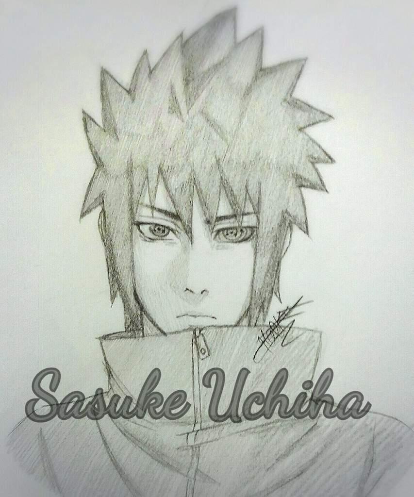 Tuto Dessin Comment Dessiner Sasuke Uchiha Naruto