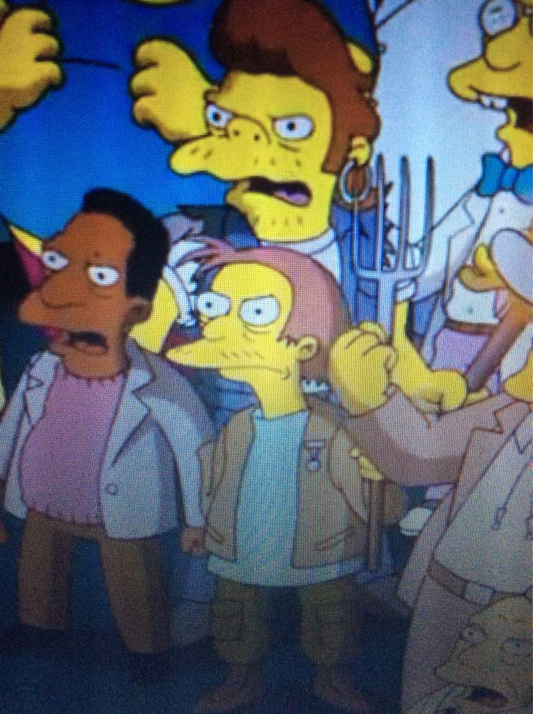 Everytime I See Herman In The Simpsons Movie Plus One Hot Frink Tim Otto And Dolph At The End The Simpsons Amino