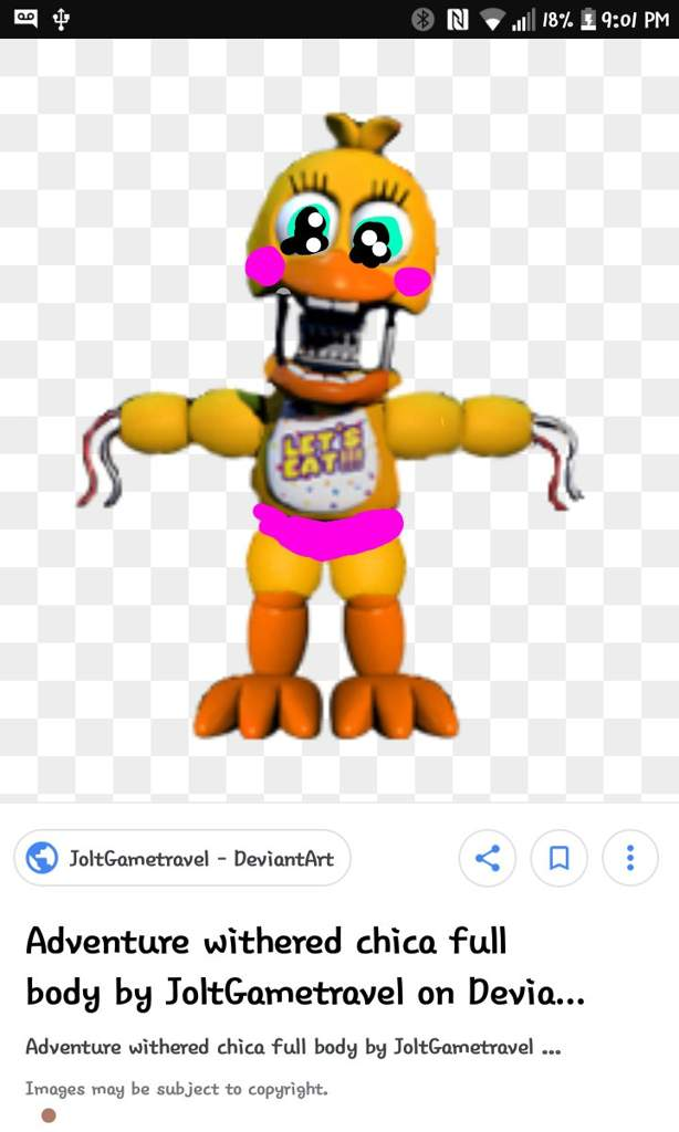 Adventure Toy Withered Chica Five Nights At Freddys Amino