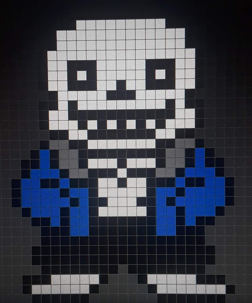 Pixel Art Of Sans Aus Undertale Amino