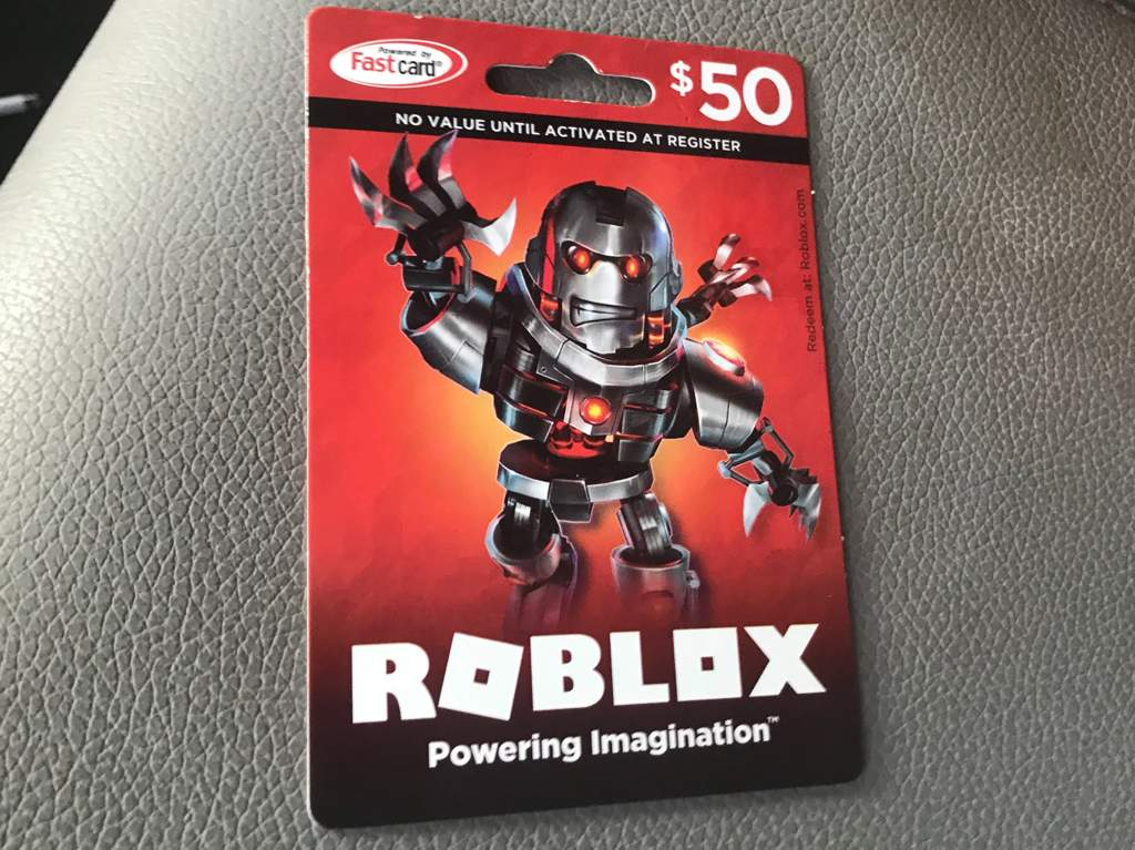 Can You Use A Walmart Card For Roblox Robux 50 Robux Gift Card Roblox Amino