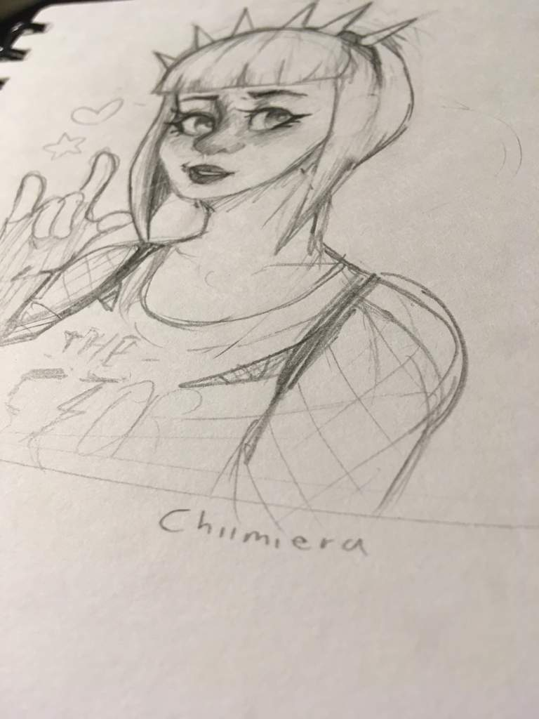 power chord doodle