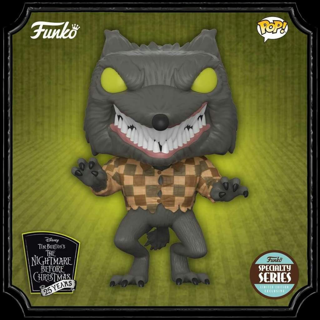 Nightmare Before Christmas Wolfman | Funko! Amino