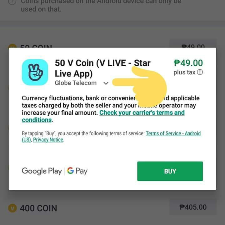 How to purchase coins for vlive using your load! | ARMY's Amino