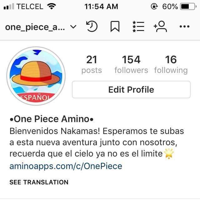 Instagram One Piece Amino