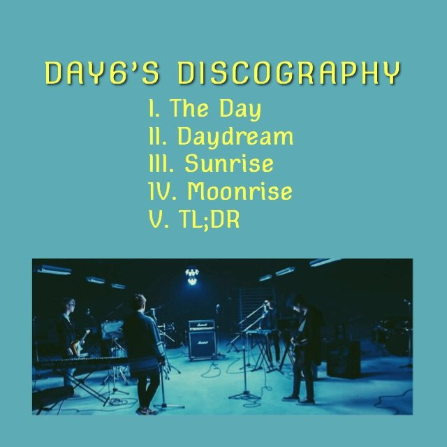 every day6: discography ☼ | K-Pop Amino
